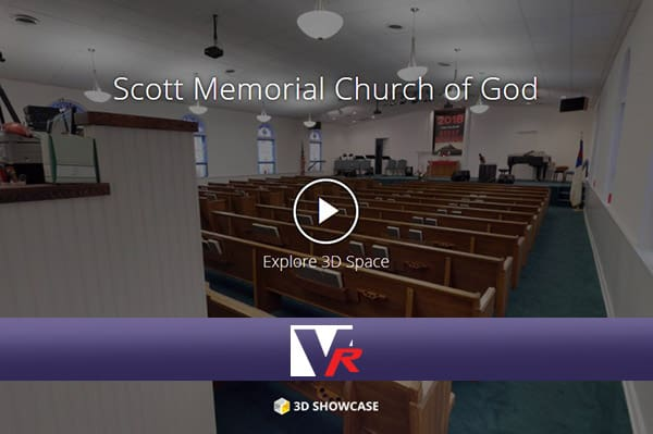 Scott Memorial presented by VRMedia with 360 VR TOUR, online photo quality 3D displays.