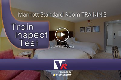 Hotel Marriott with 3D 360 VR TOUR, online photo quality displays, great for training.